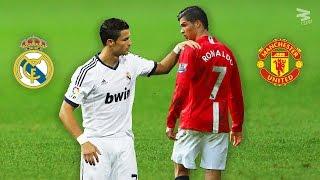 Cristiano Ronaldo: Similar Skills & Goals ► MU & RM