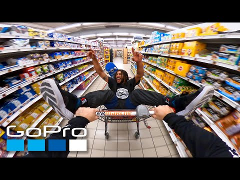 GoPro athlete Madars Apse turns an empty supermarket into his personal skate park.