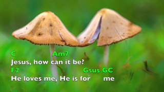 Jesus Loves Me (lyrics & chords) Chris Tomlin