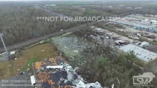 02-07-17 East New Orleans, LA - Tornado Damage Aerials