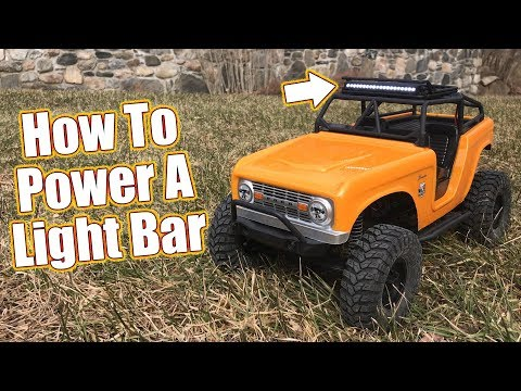 Tips For Adding Lights & Detail To Your RC - Pro-Line LED Light Bar & Roof Rack Install  | RC Driver