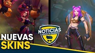 Nuevas Skins: Janna Embrujada y Kai'Sa (?) - Noticias LOL