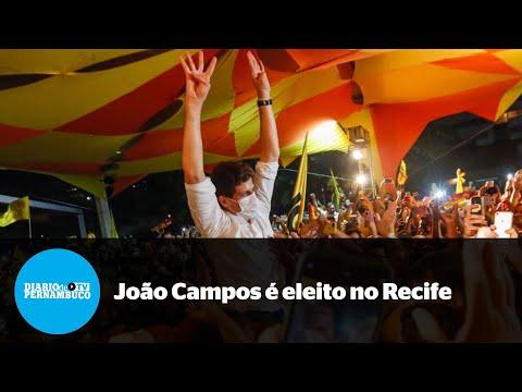 Segundo turno em PE: João Campos é eleito prefeito do Recife