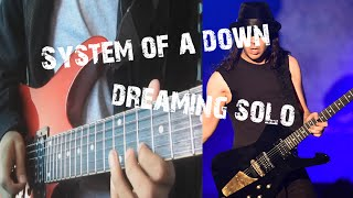 System of a down - Dreaming solo +TABS (Cover versiòn live in armenia 2015)