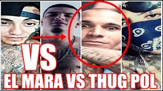 El pinche mara VS thug pol | TREN LOKOTE REMIK GONZALES & MAS |MUSICRAPHOOD