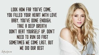 Shakira - Try Everything (Lyrics) 🎵