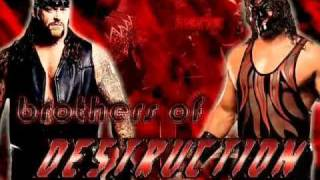 Brothers of destruction theme