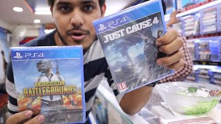 Buying New Ps4 Games From Karol Bagh😍