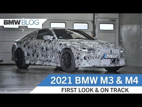 2021 BMW M3 and M4 Prototypes – First Look and On Track Testing