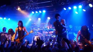 Black Veil Brides - Rebel Love Song - Live @Klubi Tampere, Finland