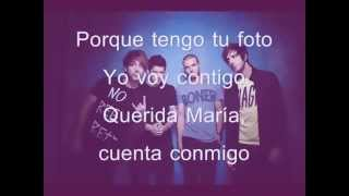 DEAR MARIA COUNT ME IN- ALL TIME LOW (LETRA EN ESPAÑOL)