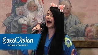 "Jamie-Lee singt ""Ghost"" unplugged 