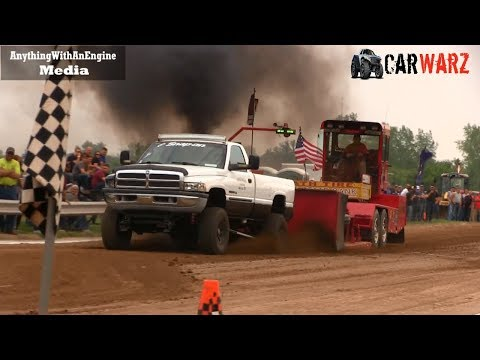 Local Street Gas And Diesel At TTPA Truck Pulls In Peck Michigan 2019