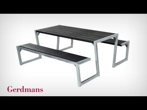 Bänkbord Zigma | Monteringsinstruktion | Gerdmans
