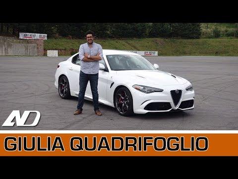 Alfa-Romeo Giulia Quadrifoglio - Lo más cercano a un Ferrari de 4 puertas