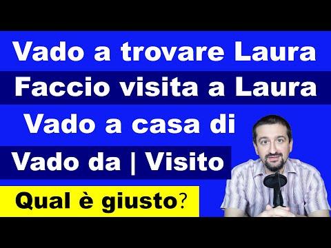 I verbi italiani VISITARE e ANDARE A TROVARE (Impara l'italiano intermedio!)