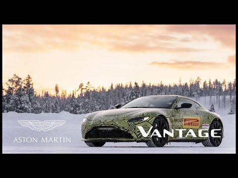 New Vantage - Cold Environment Testing in Finland | Aston Martin