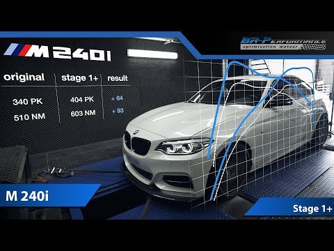 BMW F2x M240i Stage 1+ with Eventuri Intake / Wagner Intercooler By BR-Performance