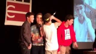 MAGCON DC hold on we're going home by the boys (: