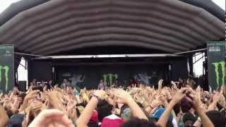"Sleeping With Sirens ""If You Can't Hang"" [Live Warped Tour 2012]"