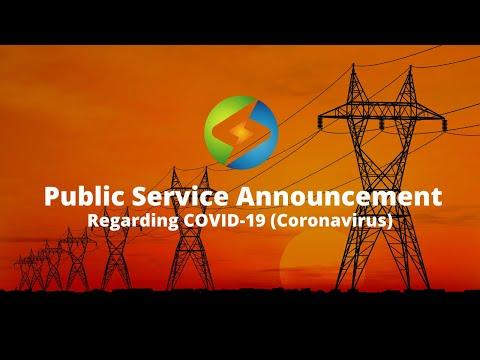 Energy Professionals - Public Service Announcement regarding COVID-19