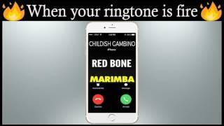 Latest iPhone Ringtone - Redbone Marimba Remix Ringtone - Childish Gambino