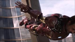 Iron Man Mark 7 suit up