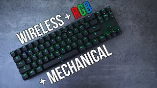 Wireless RGB Mechanical Keyboard!