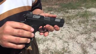 At the Range: CZ 97B and 97BD Pistols