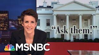 Robert Mueller Memo On Flynn Shows Cooperation On Three Investigations | Rachel Maddow | MSNBC