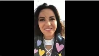 Maite Perroni en FACEBOOK LIVE Nos Cuenta Sobre El VideoClip de EL NUEVO SENCILLO LOCA