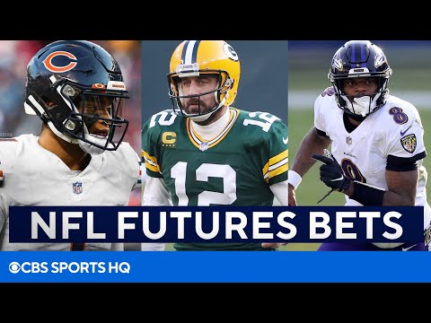 NFL Futures Bets: Why Bears, Packers, & Ravens Could be Good Bets | CBS Sports HQ