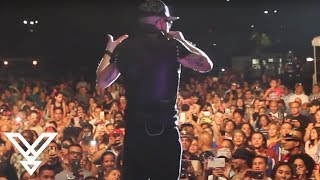 Yandel-USO Fort Bliss Show