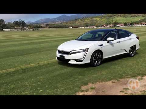 2017 Honda Clarity Fuel Cell: First Look - Video