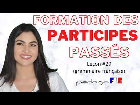 VERBOS en participio PASADO en frances - Clase 29