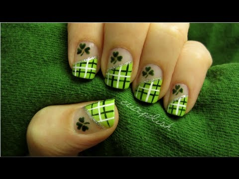 St. Patrick's Day nail art