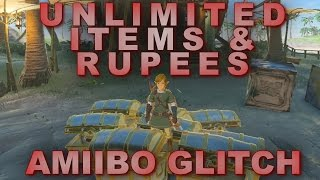 Unlimited Items & Rupees - Breath of the Wild Amiibo Glitch