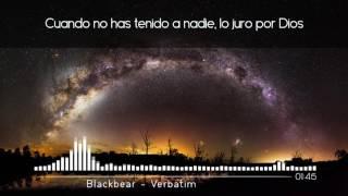 Blackbear - Verbatim   Sub. Español