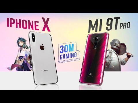 iPhone X vs. Redmi K20 Pro 🔵 30M Gaming S3 #25 - iPhone X đã NÁT chưa?
