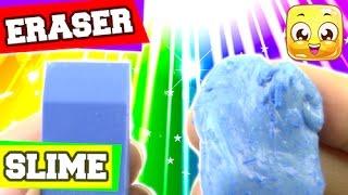 How To Make Eraser Slime DIY Without Cornstarch, Liquid Starch, Borax, or Detergent