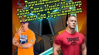 Popularmmos and John Cena Music Mashup | AND HIS NAME IS PAT