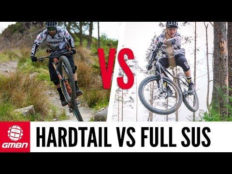 "Full Suspension Vs Hardtail | What's More Fun"""