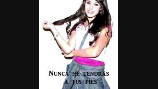 "Danna Paola - Atrevete a Soñar ""Nunca me tendras a tu pies"""