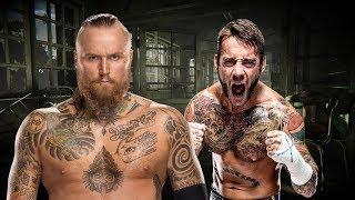 Burns of All Evil - (CM Punk vs Aleister Black MashUp) - TheABX1