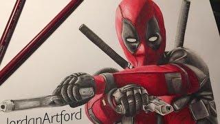 DEADPOOL Drawing! (Ryan Reynolds)