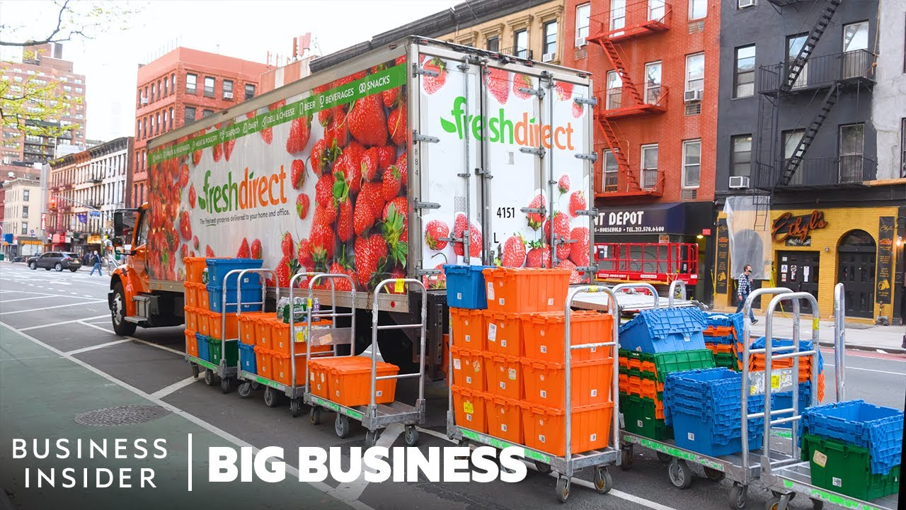 How 3 Million Grocery Items are Delivered To Homes Every Week