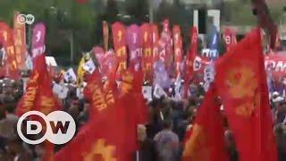 İstanbul'da 1 Mayıs kutlamaları - DW Türkçe