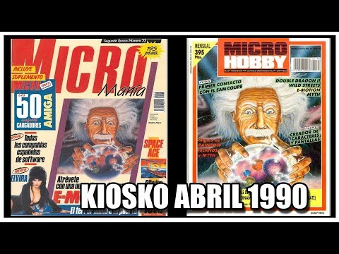 MICROMANIA Y MICROHOBBY ABRIL 1990
