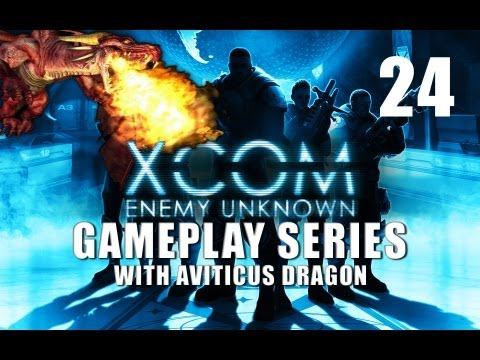 XCOM Enemy Unknown - Gameplay - Part 24 - Operation Flying Sentinel (Game Over)