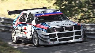 5-Cylinder Engine Swap on a Lancia Delta Integrale Hillclimb Monster!